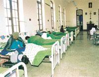 Los fantasmas en el Hospital de Clinicas de La Paz.