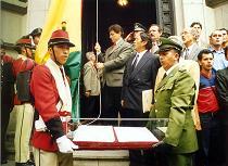 El Sacrosanto Himno Nacional de Bolivia